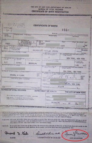 Nyc birth certificates for foreign use birth certificate new york city mellon xflitez Choice Image
